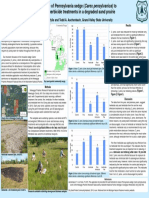 Response of Pennsylvania sedge (Carex pensylvanica) to fire and herbicide treatments in a degraded sand prairie