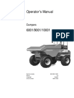6001 Operators Manual  DUMPER