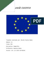 A UNIÃO EUROPEIA.docx