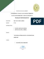 Grupo 10 - Nociones Generales de La Filosofia Del Derecho