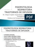 Fisiopatologia Respiratoria (Trastornos de Difusion)