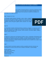 Breve Cronología Del Origen y La Evolución de La Lengua Castellana