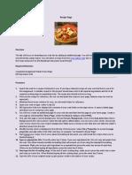 11 - Recipe Editing