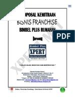 Proposal Panduan Praktis Franchise Xpert Mti Bgr 2017
