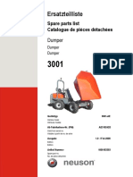 3001 Parts Manual Tier III  DUMPER