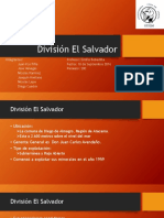 Division El Salvador