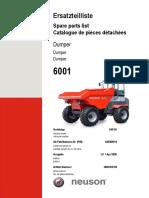 6001H Parts Manual Tier III  DUMPER