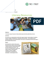 2017-10 OCT GVI Fiji Dawasamu Achievement Report - Literacy Resources