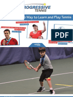 New Progressive Tennis Guide
