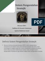 Landasan Sistem Pengendalian Stratejik