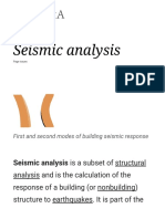 Seismic Analysis - Wikipedia