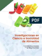 Investigaciones en Ciencia e Inocuidad