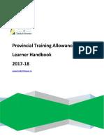 89876-PTA Learner Handbook 2017-18 v4