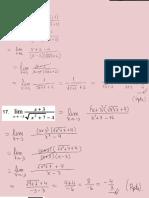 Límites de Funciones - Ejercicios Resueltos
