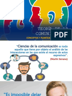 Teoría de la comunicación - Conceptos generales