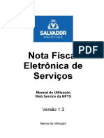 Manual Nfts Web Service v1.3 - Salvador