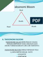 Segi Tiga Taksonomi Bloom