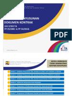 2016-01-Kebijakan Penyusunan Dok. Kontrak UU Dan PP