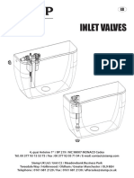 COMPACT 99B Inlet Valve Manual
