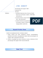 Job Sheet Pemasanganiud