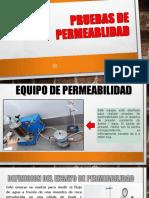 informe de equipo de permeabilidad