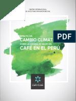 Impacto Del Cambio Climatico en La Cadena de Valor Del Cafe