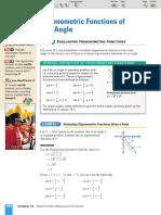 Class Zone - Trigonometric Reference Angles