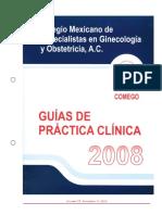 2008 FEMEGO. Diagnóstico y Manejo Del Parto Pretérmino. 2009