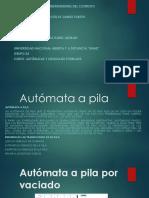 Autómata Con Pila y Gramática