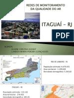 ITAGUAÍ - EMISSÕES ATMOSFÉRICAS