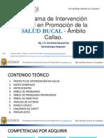 Proyecto de Intervención Social en Promoción de Salud Bucal