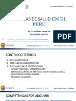 Sistemas de Salud en el Perú