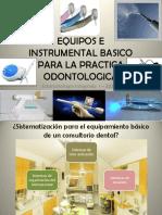 Equipamiento básico en Odontología