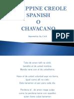 Philippine Creole Spanish