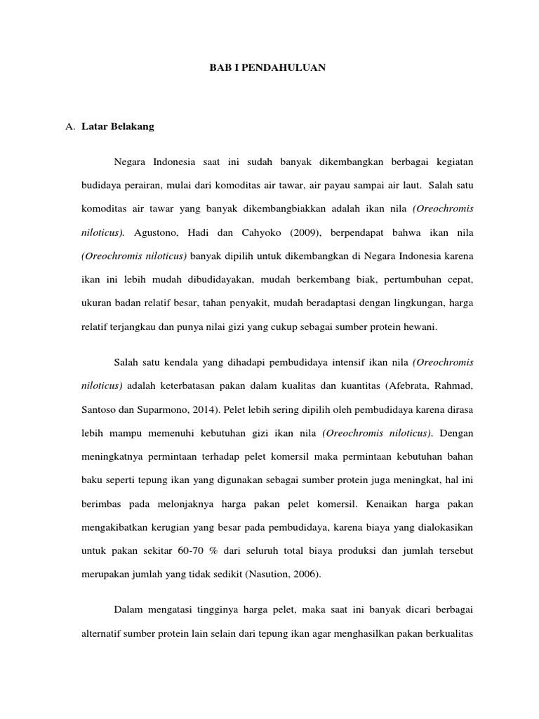 Contoh Proposal Peelitian Skripsi Kuantitatif Bab I Dan Ii