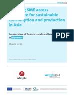 Green Finance Study - 2016 - Myanmar