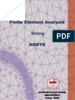 Ansys Workbook