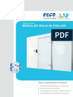 Esco Walkin Chiller Brochure