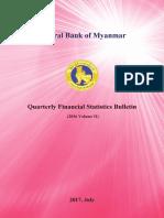 Quarterly Financial Statistics Bulletin 2016 Volume II