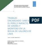 Sociedad Agente de Bolsa en El Peru