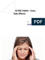 Tryptomer 10 MG Tablet - Uses, Side Effects