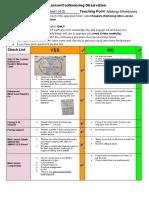 semester 1 readers workshop appraisal