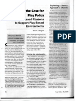 making the case for play policy article - all