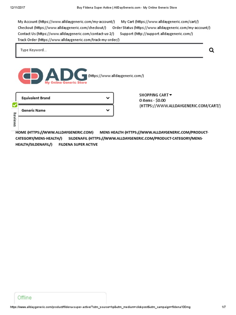 Buy Fildena Super Active | alldaygeneric | Buy Generic