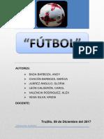 Monografía Futbol