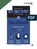 Social Media Post Timing 2017