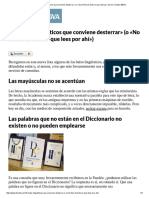 «10 Bulos Lingüísticos Que Conviene Desterrar» (o «No Te Fíes de Todo Lo Que Lees Por Ahí») _ Fundéu BBVA