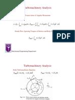 Turbomachinery Analysis