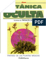 Paracelso- Botanica Oculta
