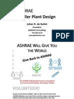 Ashrae- Basic Chiller Plant Design